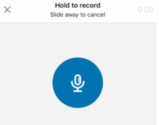 LinkedIn voicemail messaging