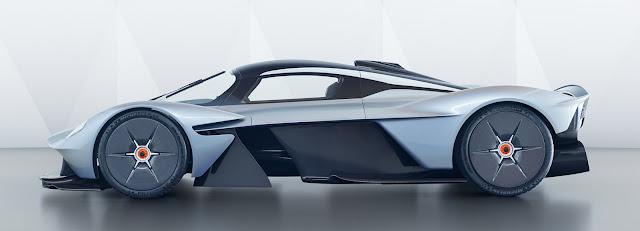 Aston Martin reveals exterior and interior design of new Valkyrie sleek car