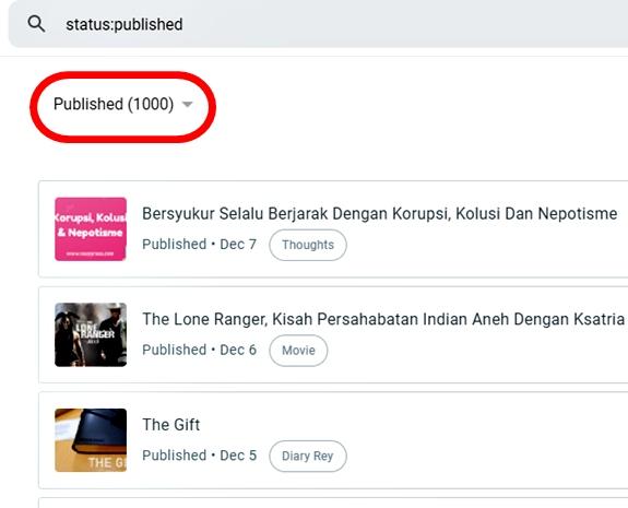 postingan ke 1000 di blog