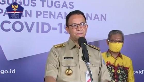 Anies: Jangan Coba-coba Masuk Jakarta, Jika Tak Punya SIKM