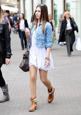 Vestidos con botas cortas