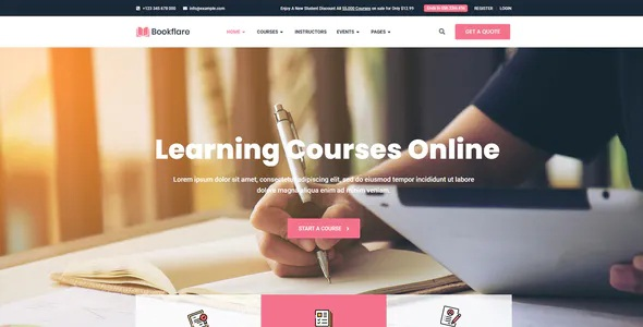Best Modern Education & Online Learning Elementor Template Kit