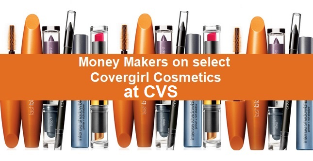 FREE + Money Maker Covergirl CVS Deals - 7/28-8/3
