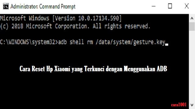 Cara Reset HP Xiaomi yang Terkunci