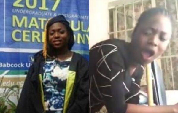 Babcock University Student Leaks S£x Tape With Fellow Student (Watch Video)