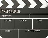 Image of Movie Scene Clapper Board