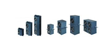 equipment or control enclosure cooling units of various sizes