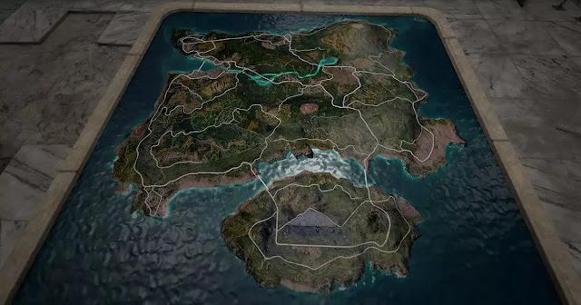 Map Erangel PUBG Mobile