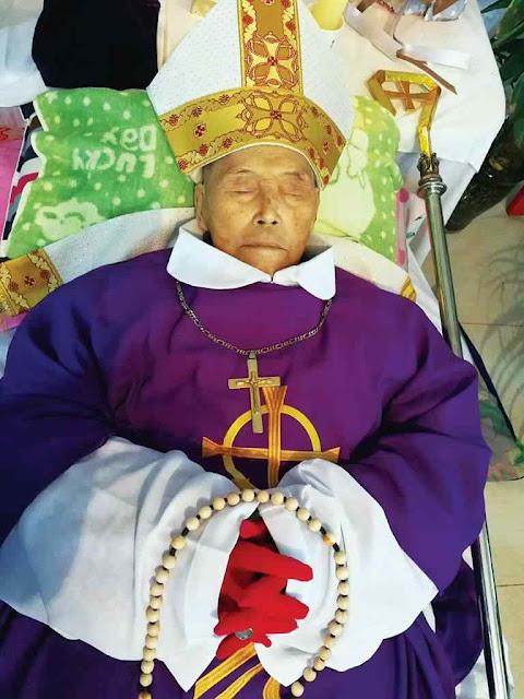 Mons. Lucas Li Jingfeng, bispo de Fengxiang (Shaanxi) recusou pactos com o comunismo e passou 21 anos preso morrendo com fama de santidade.