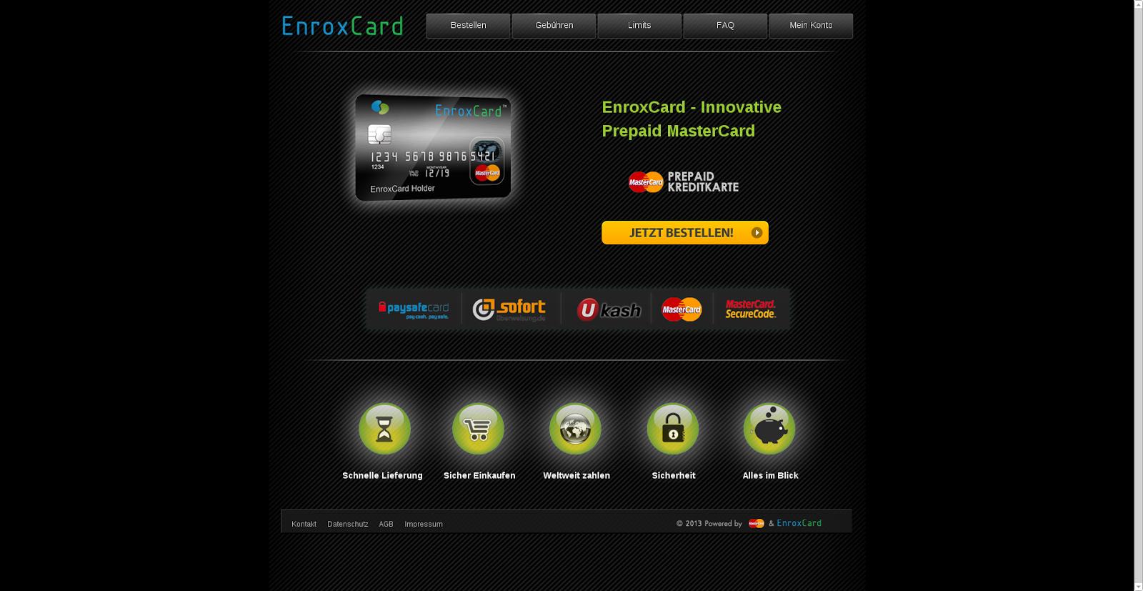 Prepaid Kreditkarte Gibraltar