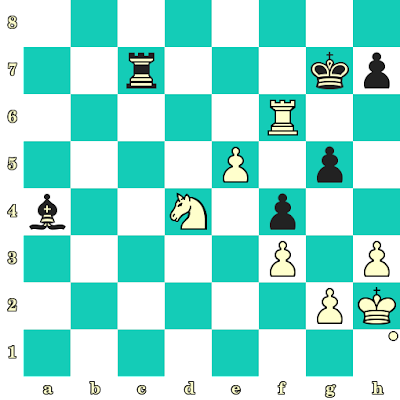 Les Blancs jouent et matent en 2 coups - Wenjun Ju vs Viktorija Cmilyte, Pékin, 2013