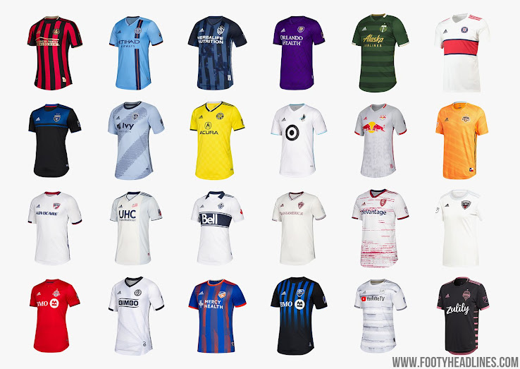 wholesale dealer a7ea5 76237 2019 MLS Kit Overview - All New MLS Jerseys - Footy Headlines