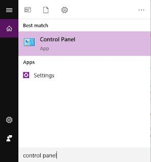 Menghapus Aplikasi Lewat Control Panel