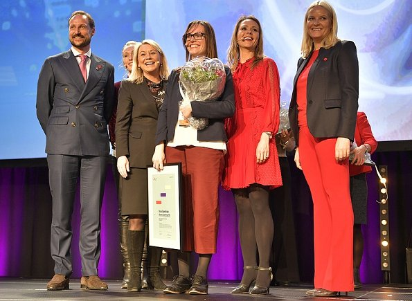 Crown Prince Haakon and Crown Princess Mette Marit attended the presentation of the Female Entrepreneur Norway 2017 Award in Trondheim