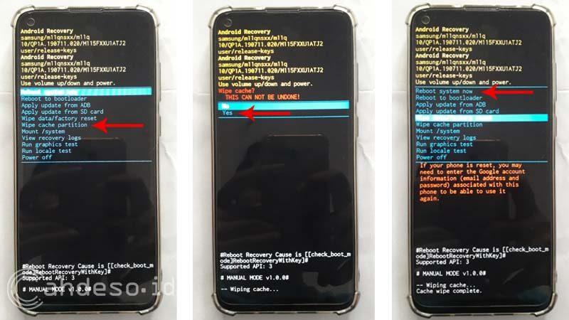 Menghapus Cache di HP Samsung