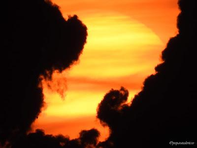 Rasarit de soare Constanta zoom cu Nikon,