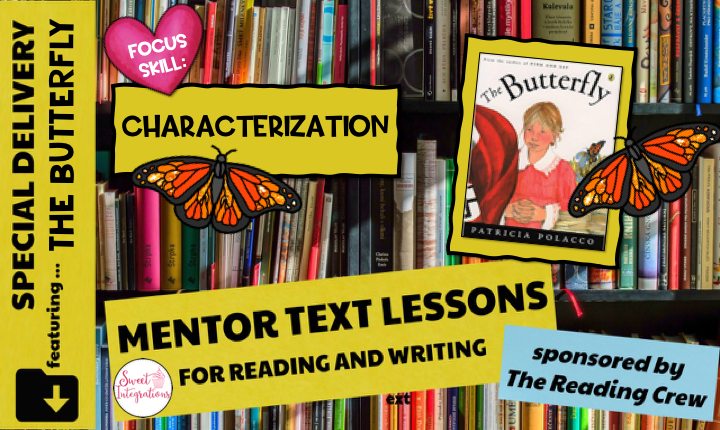 Title Image - Mentor Text for Reading and Writing Sponsored by The Reading Crew