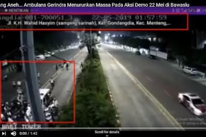 Viral Video CCTV, Ambulance Gerindra Bagi-Bagi Peng Keu Awak Demo Pipel Powe