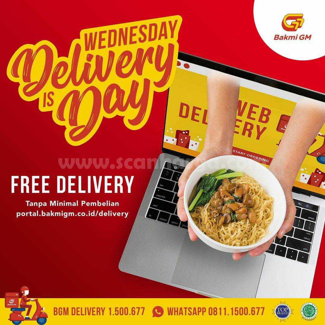 BAKMI GM Free Delivery! WEDNESDAY IS DELIVERY DAY