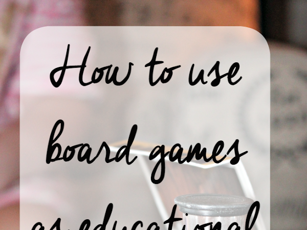 How to use board games as educational tools & brain games (Plus giveaway!)