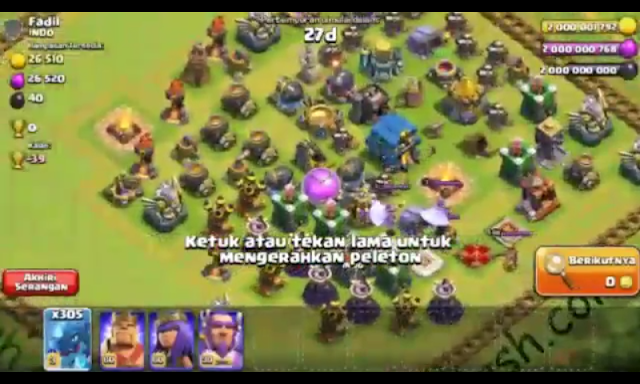 Clash Of Clans MOD Apk (Unlimited Gems/Unlimited Gems) Town
