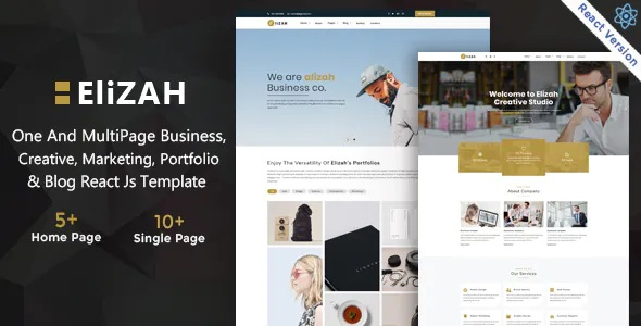 Business And Corporate Responsive Website Template