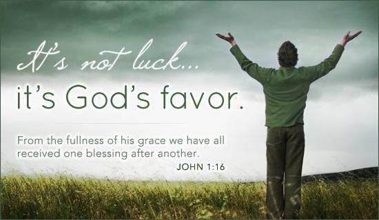 PRAYER FOR DIVINE FAVOR