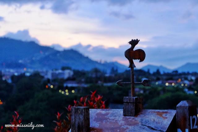 sunrise di trizara resorts lembang