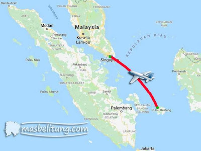 Penerbangan Internasional Belitung - Singapura