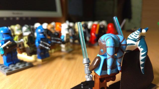 Генерал Шаак Ти и рыцарь-джедай Эйла Секура фигурки лего
