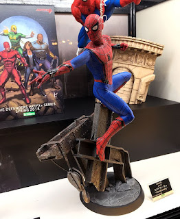 Spiderman Homecoming Artfx Statue