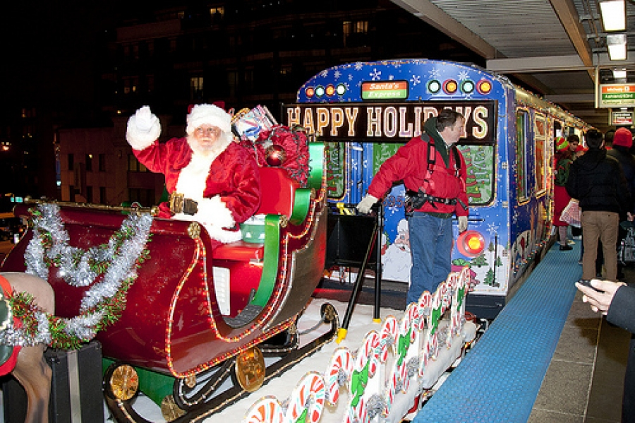Cta Holiday Train Schedule 2020 Ability Chicago Info Blog : Chicago 2015 CTA Holiday Train & Bus