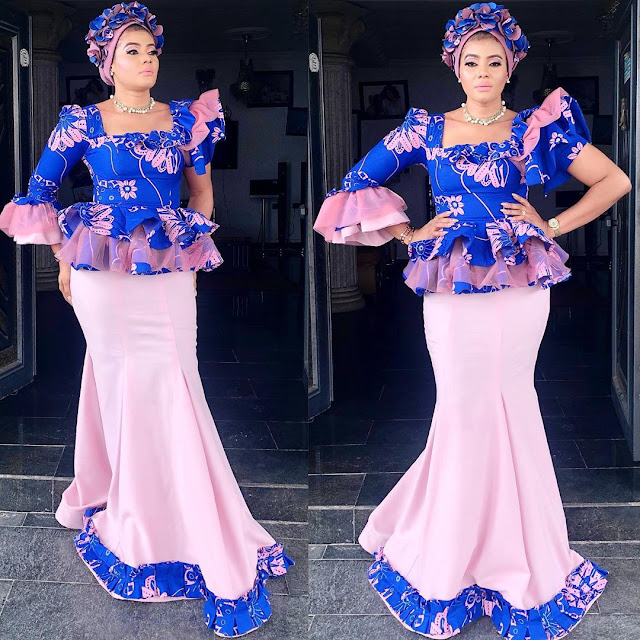 2019 Latest Beautiful Asoebi Styles You Can't Ignore