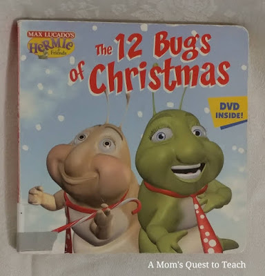 book cover of 12 Bugs for Christmas