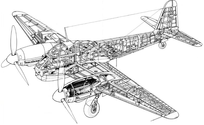 German Aircraft of WWII: The Messerschmitt Me 210