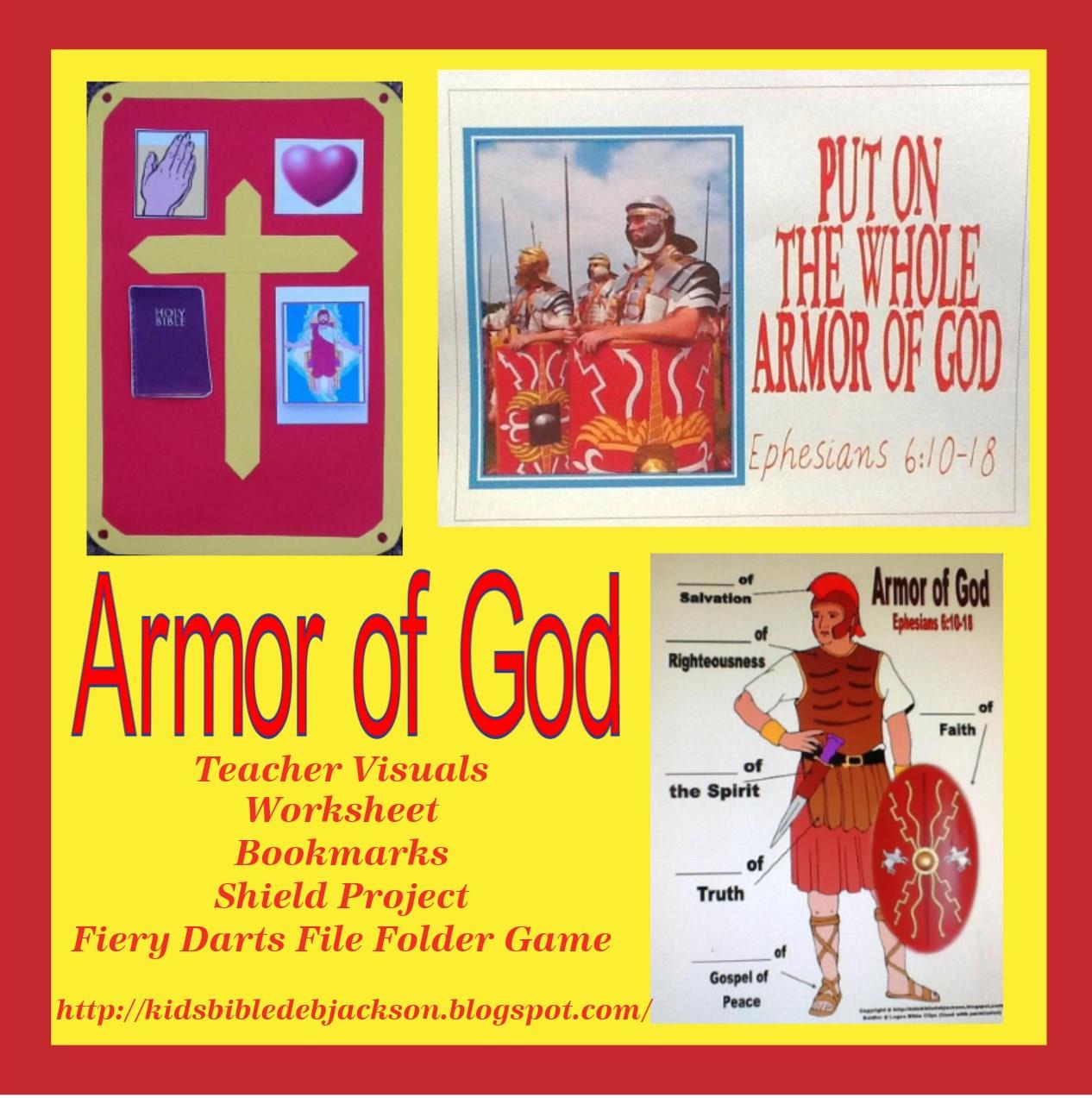 Bible Fun For Kids: The Whole Armor Of God (Christian Soldier