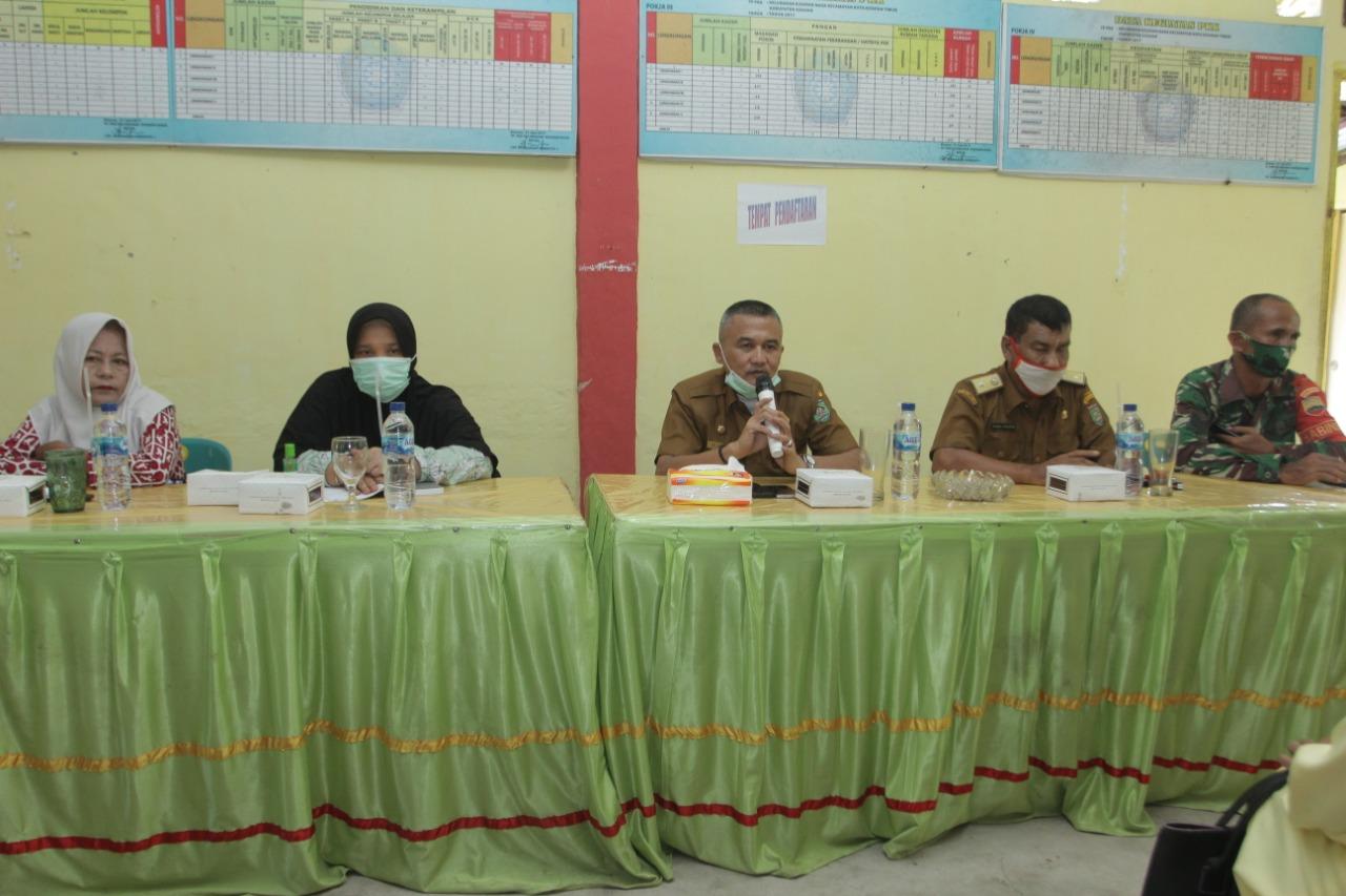 Pimpin Rakorpem di Kelurahan Kisaran Naga, Rahmad Hidayat Meminta ASN Tingkatkan Pelayanannya Kepada Masyarakat