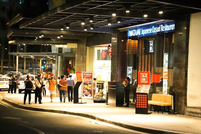The Watami Restaurant in Glorietta near National Bookstore and Lugang