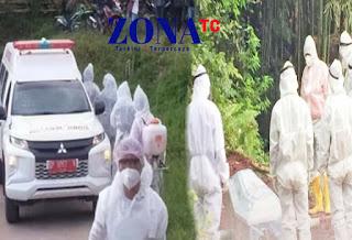 25 Desember 2020, 10 orang Meninggal Dunia karena Covid di Toraja Utara