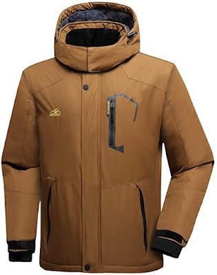 Men's Jacket Winter Warm Snow Coat