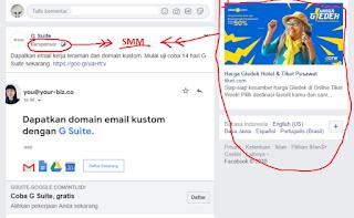 contoh SMM pada facebook
