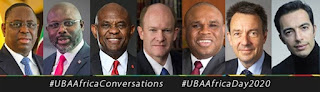 Africa Beyond Covid-19:Weah,Elumelu Others Converge At UBA Africa Day ,Urge Government, Private Sector Collaboration