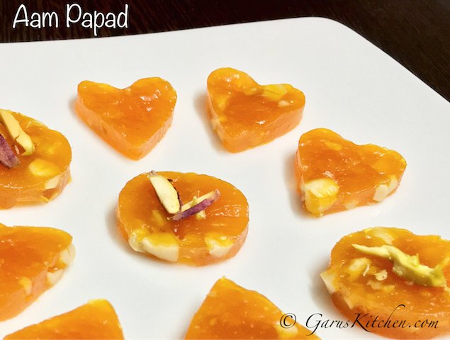 aam papad recipe or mango papad recipe