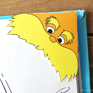 Lorax Corner Bookmark