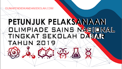 DOWNLOAD JUKNIS OSN SD TAHUN 2019
