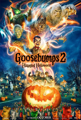 Goosebumps 2: Haunted Halloween (BRRip 720p Dual Latino / Ingles) (2018)