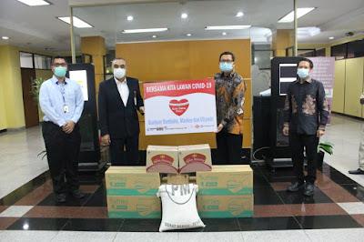 Pandemi Covid-19, Bupati Tangerang Terima Bantuan Dari 3 Perusahaan
