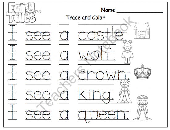 fairy tales printable preschool printables. Black Bedroom Furniture Sets. Home Design Ideas