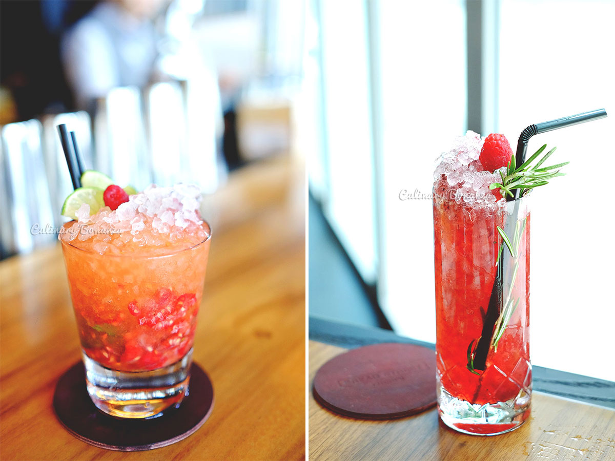 Mocktails at Bread Street Kitchen by Gordon Ramsay (www.culinarybonanza.com)