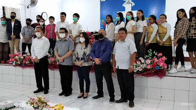 Mor Bastiaan Hadiri Ibadah KKR Pemuda Remaja GPdI Victory Ranomuut
